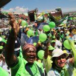 Seguidores de Correa protagonizan marcha contra el Gobierno de Ecuador