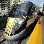 Servicio de tren de alta velocidad de Florida podría empezar en Miami en mayo