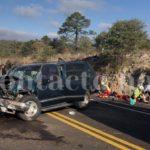 Otro horrible encontronazo o volcadura sobre la súper Durango-Mazatlán con lesionados, varios graves