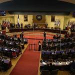 Dos partidos de derecha se reparten presidencia del Congreso salvadoreño