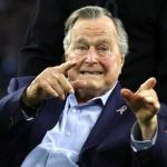 Expresidente Bush padre es hospitalizado por baja presión sanguínea y fatiga