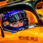 """Alonso:""""Contento, estamos en primera fila y con opciones de ganar la carrera"""""""