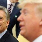 """Macri agradece a su """"amigo"""" Donald Trump el apoyo a su gestión en Argentina"""
