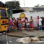 Muere joven nicaragüense arrollado por un autobús en medio de protestas