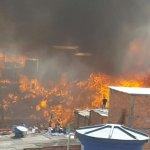 Al menos diez casas fueron destruidas por incendio de una favela en Brasil