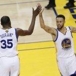 106-119. Durant y Warriors pueden con Rockets de Harden y toman ventaja