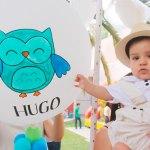 Bautizaron al pequeño Hugo Gallardo Castro