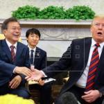 Pyongyang y Washington continúan sus reuniones en la frontera intercoreana