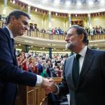 El socialista Pedro Sánchez elegido nuevo presidente del Gobierno español