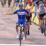 Alaphilippe se impone en la cuarta etapa, Moscon nuevo líder