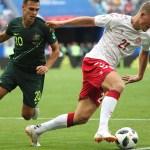 Dinamarca y Australia empatan a un gol y dejan todo para la última jornada