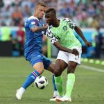 Nigeria e Islandia se neutralizan, tablas sin goles al descanso