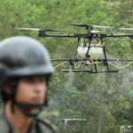 Colombia sumará drones a su flota tecnológica para erradicar cultivos de coca