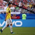 James Rodríguez sufre un edema menor en el sóleo y es duda ante Inglaterra
