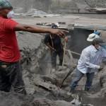 Sube a 109 la cifra de muertos por erupción del Volcán de Fuego en Guatemala