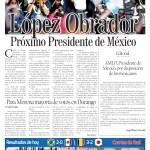 Edición impresa del 3 de julio del 2018