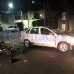 Chocan y lesionan a otros dos motociclistas que van a parar al hospital 450