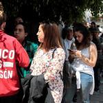 Jóvenes votan con la esperanza de impulsar un cambio político en México
