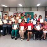 Se gradúan 30 pacientes con enfermedades crónico-degenerativas del programa de atención social a la salud