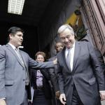 Guterres destaca el desarrollo inclusivo y sostenible de Costa Rica