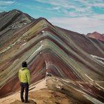 Piden precaución para visitar montaña de siete colores de Perú por nevadas