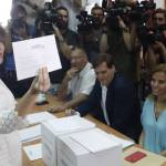 Sáenz de Santamaría irá a segunda vuelta para la presidencia del PP