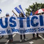 Un millar de nicaragüenses se manifestaron para pedir la dimisión de Ortega