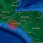 Un sismo de magnitud 4 sacudió el Pacífico de El Salvador