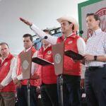 Asumió Ismael Hernández Deras la conducción de la CNC de manos del presidente Enrique Peña Nieto