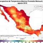 En 496 municipios de 18 estados termina emergencia por calor intenso