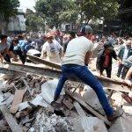 El sur de México se levanta a casi un año del terremoto que sacudió el país