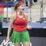 Sabalenka aparta a Carla Suárez del título en New Haven