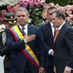 Iván Duque jura como nuevo presidente de Colombia