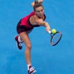 Simona Halep alcanza las semifinales
