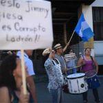 Comienza marcha para exigir renuncia presidente Guatemala y continuidad Cicig