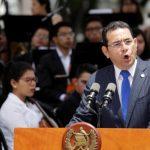Organizaciones exigen a presidente guatemalteco revocar veto al jefe de Cicig