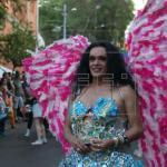 Transexuales marchan en Asunción en defensa de los derechos LGTBI