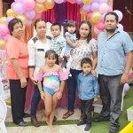 Ángela Johana Merez Ortiz celebró sus siete años