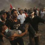 Al menos 19 palestinos heridos por soldados israelíes en disturbios en Gaza