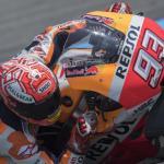 Márquez se cae y queda fuera de la segunda clasificación directa