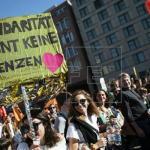 Más de 100.000 personas se manifiestan contra el racismo en Berlín