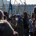 Miles de personas marchan por la resistencia mapuche en Chile