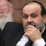 Muere el ministro de Asuntos Religiosos israelí, David Azulai