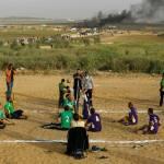 Organizadores de protestas en Gaza piden no acercarse a frontera con Israel