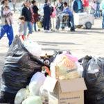 Dejan tianguis más de 7 toneladas de basura