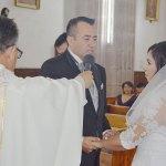 María del Rosario Soto Estrada y Martín Vallejo Fabela ya son marido y mujer