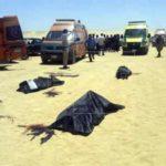 Al menos 7 muertos y 14 heridos en un ataque contra cristianos en Egipto