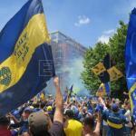 Fiscal investiga ataque al autobús de Boca Juniors que dejó jugadores heridos