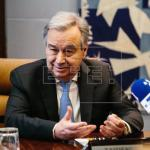 """El secretario de la ONU espera """"sólida relación"""" con nueva embajadora de EEUU"""