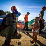 Migrantes centroamericanos triplican capacidad de albergue en Tijuana